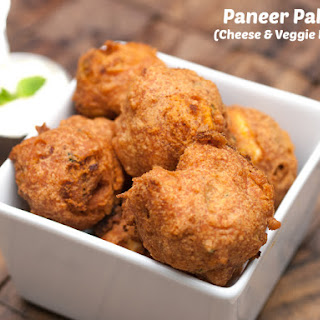 Paneer Pakora (Indian Veggie & Cheese Fritters)