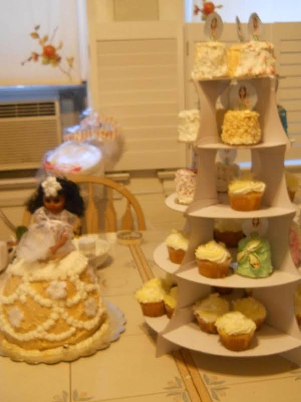 Princess Or Bride Doll Cake Recipe