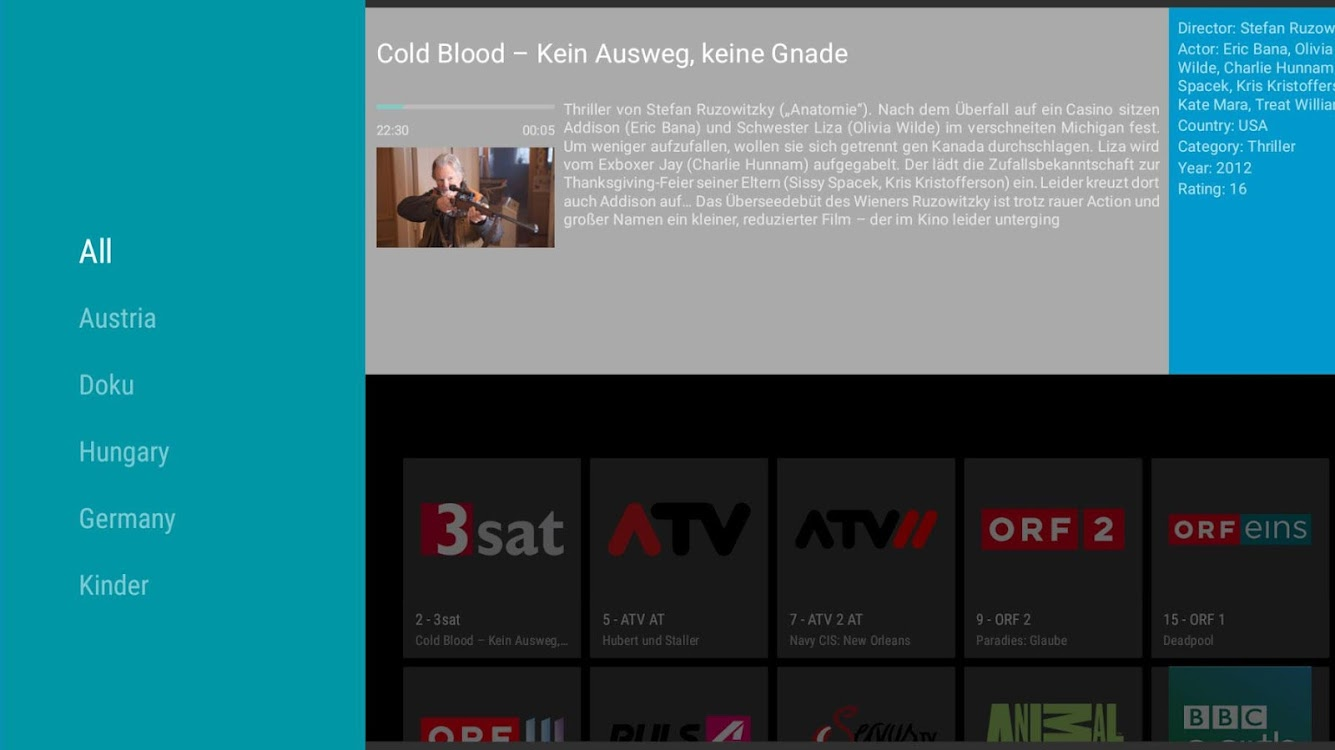 EPiG - IPTV Player with EPG – (Android Apps) — AppAgg