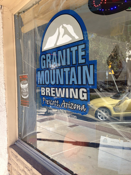 Photo: This place just opened, and is right down the road from Prescott Brewing Company.