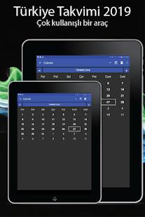 App Türkiye takvimi 2019 APK for Windows Phone