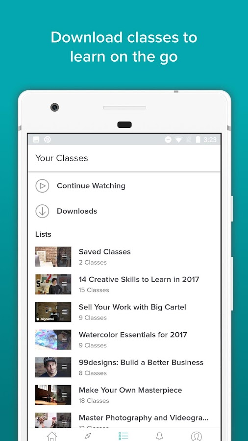 Skillshare Online Classes- screenshot