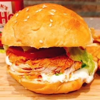 Buffalo Chicken Sandwiches & Ranch Recipe