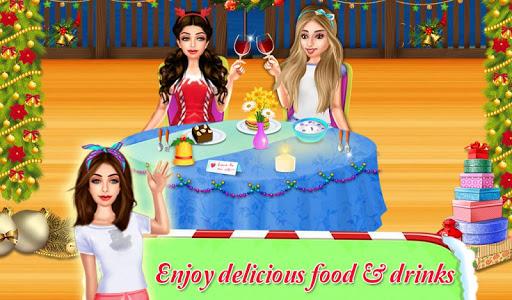 Christmas Pajama Party : Girls Pj Nightout Game 1.0.3 screenshots 2