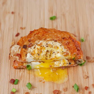 Egg in a Hole Breakfast Grilled Cheese