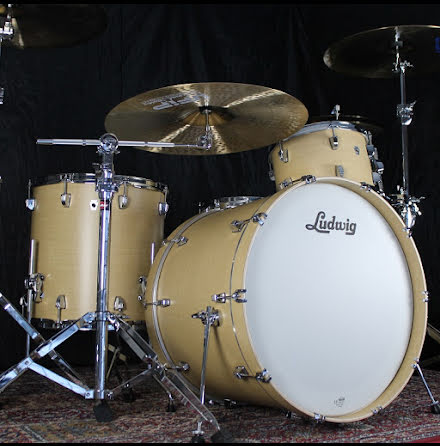 "Ludwig NeuSonic 22""-set - Sugar Maple - USA-TILLVERKADE!!"