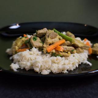 AIP Thai Pork and Cauliflower Rice Recipe