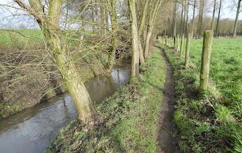 Photo: Kerkweg tussen Oudenaken en Beisberg.
