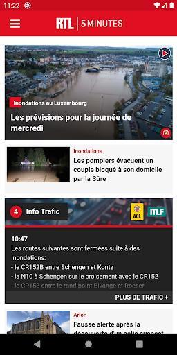 RTL 5minutes.lu screenshots 1