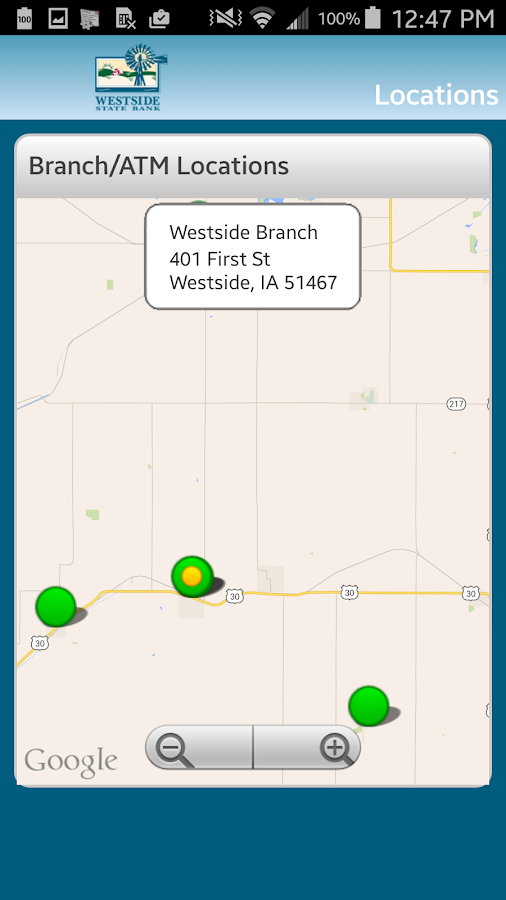 Westside State Bank - screenshot