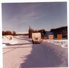 Photo: More AlCan highway - 1962