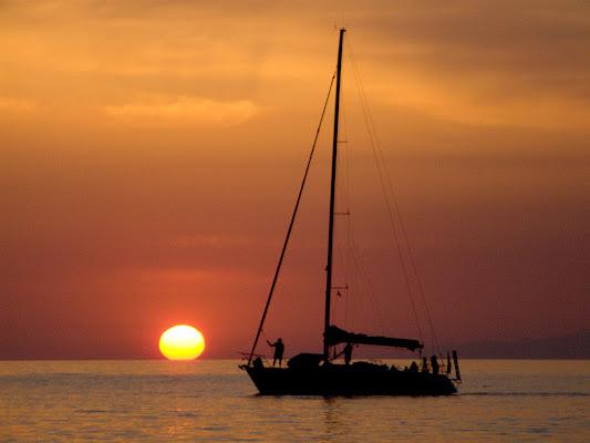 Solcando il tramonto di and276