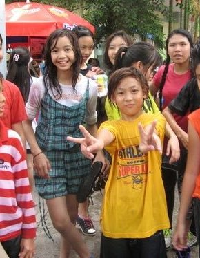 BLACKPINK Lisa and GOT7 Bambam predebut