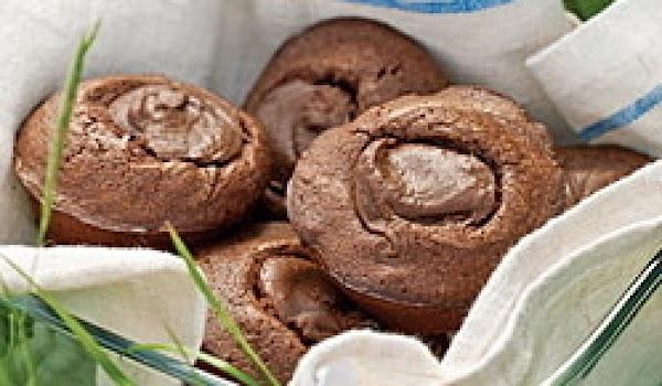 Nutella Brownie Muffins Recipe
