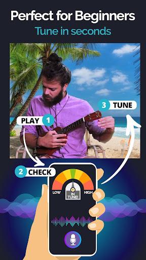 Ukulele Tuner Pocket - Pitch Perfect Uke Tuner App 1.4.5 Screenshots 3