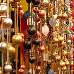 The Jewel Shop. by Nitish Khureja - Artistic Objects Jewelry ( flea, jewellery, colors )