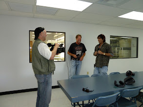 Photo: Interview with Mike Rinck at his AG3 nursery in Eustis (Florida). All plants are produced by tissue culture.