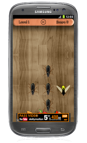 android briser l'insecte Screenshot 1