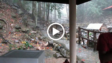 Video: Temerun waterfall ;  Jasmine now agrees ...