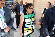 "ANC deputy secretary general Jessie Duarte criticised reporter Samkele Maseko for asking ""attacking"" questions."