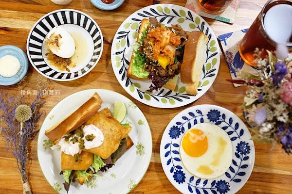 稜角室。IG熱門 有著蒂粉妮藍色調的高顏值BRUNCH,早午餐 下午茶 擺盤超美、滋味也出色!(新埔站)