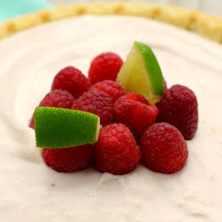 Raspberry Daiquiri Pie.