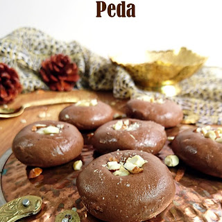 Chocolate Peda | Instant Chocolate Milk Peda Recipe