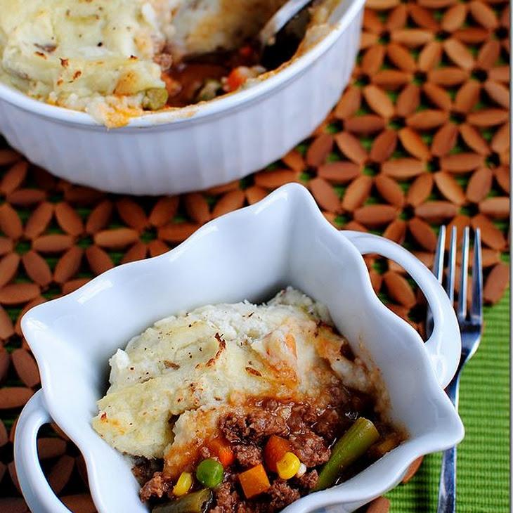 Shepherd's Pie with Healthier Mashed Potatoes That Actually Taste Good