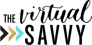 The Virtual Savvy Logo