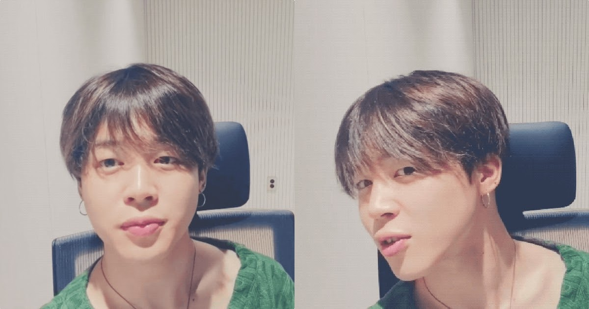 Bts S Jimin Shows Off His Stylish New Ear Piercing During Live