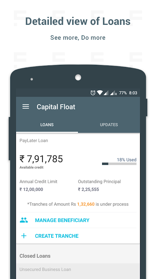 Capital Float- screenshot