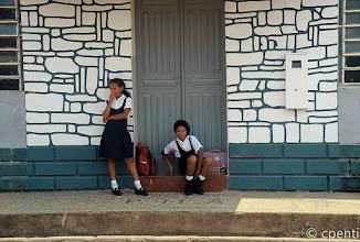 Photo: Humaita' (Amazonas, Brazil) - Scolarette / Schoolgirls