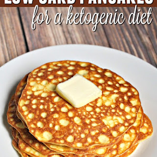 Low Carb Pancakes for the Ketogenic Diet.