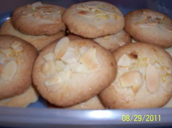 Almond Cookie Cut Outs