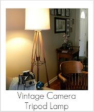 Photo: http://www.madincrafts.com/2011/11/vintage-camera-tripod-lamp.html