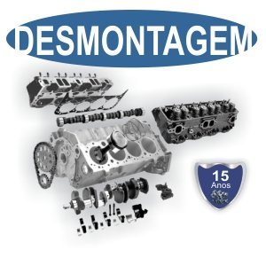 Retífica de motores Rw Motores Desmontagem do motor
