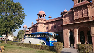 Photo: our hotel in bikaner