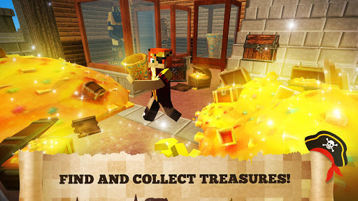 Pirate Crafts Cube Exploration 1.25-minApi23 screenshots 2