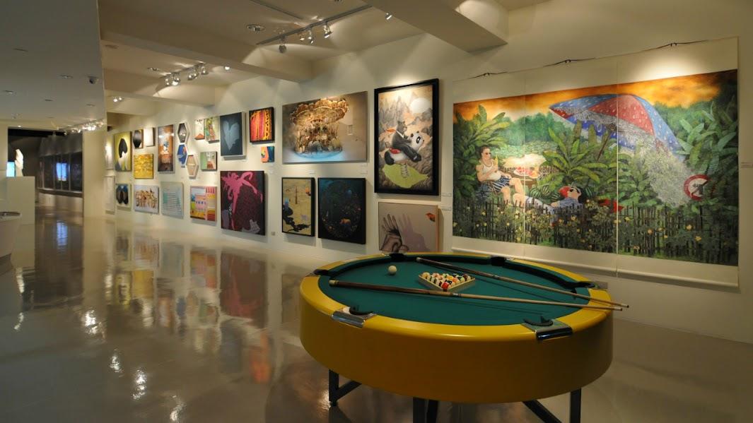 「新品入厝」展覽空間於藝術銀行總部空間
