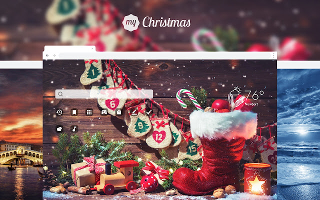 MyChristmas HD Wallpapers New Tab