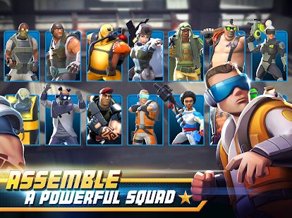 Alpha Squad 5: RPG & PvP Online Battle Arena 8