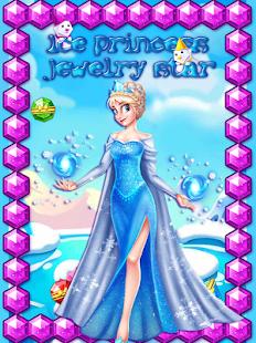 lední princezna šperky hvězda - náhled