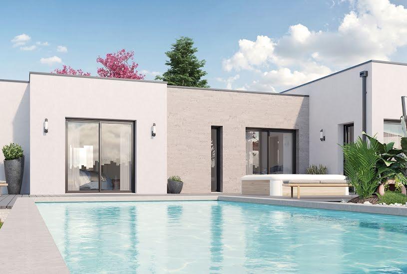 Vente Terrain + Maison - Terrain : 300m² - Maison : 191m² à Sainte-Pazanne (44680)