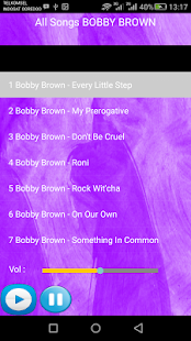 BOBBY BROWN SONGS - náhled