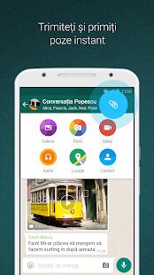 WhatsApp Messenger– captură de ecran miniatură