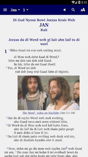 Belize Kriol - Bible 5.6 screenshots 1