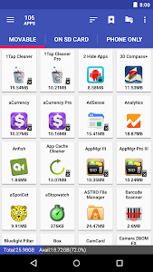 AppMgr Pro III (App 2 SD, Hide and Freeze apps) 5.03 (Patched) (x86)
