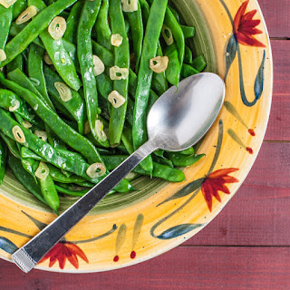 Garlic Pole Beans