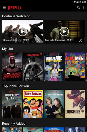 Netflix 3.14.2 build 5186 screenshot 24650