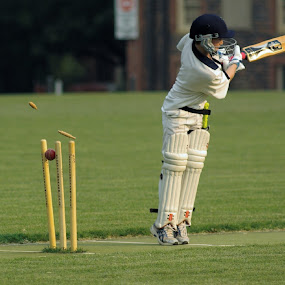 Bowled! by Graham MacDougall - Sports & Fitness Cricket